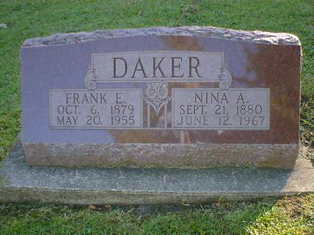DAKER, FRANK E. - Cerro Gordo County, Iowa | FRANK E. DAKER