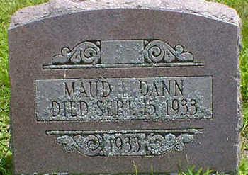 DANN, MAUD L. - Cerro Gordo County, Iowa   MAUD L. DANN