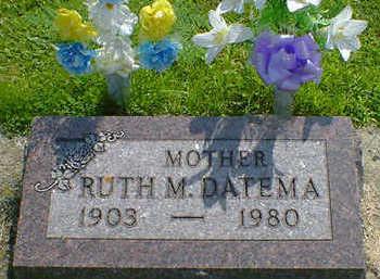 DATEMA, RUTH M. - Cerro Gordo County, Iowa | RUTH M. DATEMA