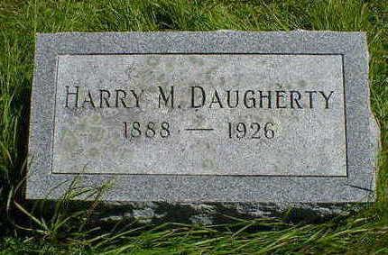 DAUGHERTY, HARRY M. - Cerro Gordo County, Iowa | HARRY M. DAUGHERTY