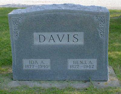 DAVIS, BENJ. A. - Cerro Gordo County, Iowa   BENJ. A. DAVIS