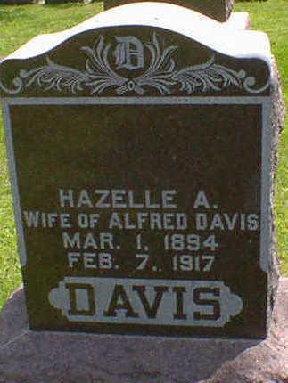 DAVIS, HAZELLE A. - Cerro Gordo County, Iowa | HAZELLE A. DAVIS