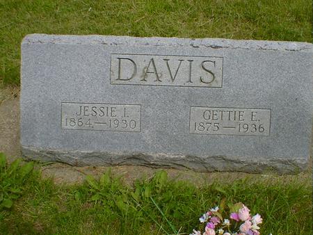 DAVIS, GETTIE E. - Cerro Gordo County, Iowa | GETTIE E. DAVIS