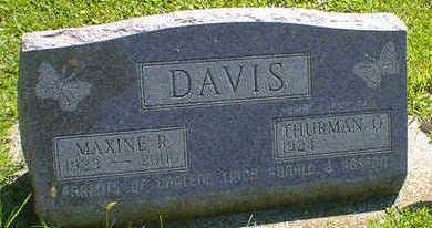 DAVIS, MAXINE R. - Cerro Gordo County, Iowa | MAXINE R. DAVIS