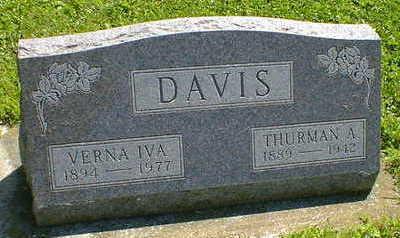 DAVIS, THURMAN A. - Cerro Gordo County, Iowa | THURMAN A. DAVIS