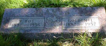 DAVIS, GOLDEN L. - Cerro Gordo County, Iowa | GOLDEN L. DAVIS