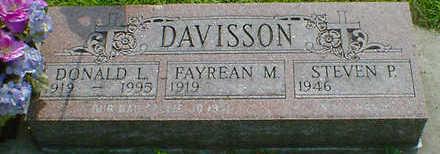 DAVISSON, DONALD L. - Cerro Gordo County, Iowa | DONALD L. DAVISSON