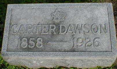 DAWSON, CARTER - Cerro Gordo County, Iowa   CARTER DAWSON
