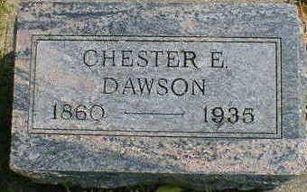 DAWSON, CHESTER E. - Cerro Gordo County, Iowa | CHESTER E. DAWSON