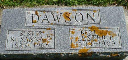 DAWSON, LESTER R. - Cerro Gordo County, Iowa | LESTER R. DAWSON