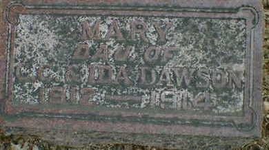 DAWSON, MARY - Cerro Gordo County, Iowa | MARY DAWSON