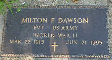 DAWSON, MILTON F. - Cerro Gordo County, Iowa | MILTON F. DAWSON