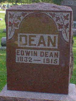 DEAN, EDWIN - Cerro Gordo County, Iowa   EDWIN DEAN