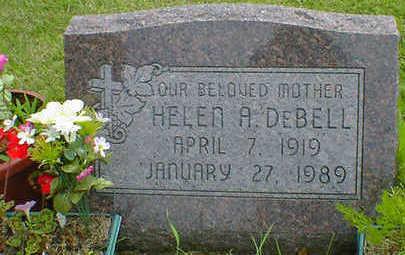 DEBELL, HELEN A. - Cerro Gordo County, Iowa | HELEN A. DEBELL