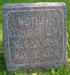 DEMO, ELIZABETH - Cerro Gordo County, Iowa | ELIZABETH DEMO