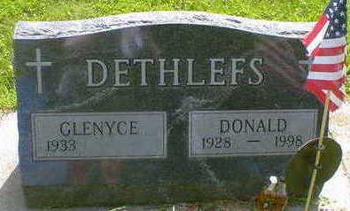 DETHLEFS, DONALD - Cerro Gordo County, Iowa   DONALD DETHLEFS