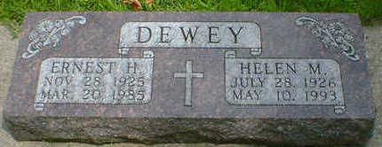 DEWEY, ERNEST H - Cerro Gordo County, Iowa | ERNEST H DEWEY