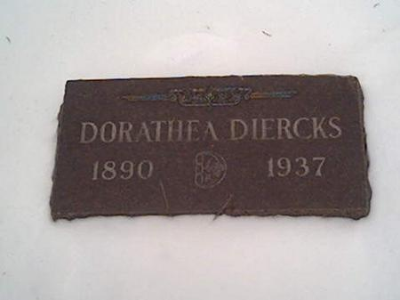 DIERCKS, DORATHEA - Cerro Gordo County, Iowa | DORATHEA DIERCKS