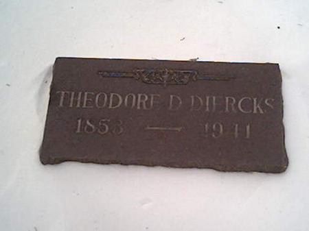 DIERCKS, THEODORE - Cerro Gordo County, Iowa | THEODORE DIERCKS