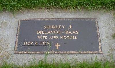 DILLAVOU-BAAS, SHIRLEY J. - Cerro Gordo County, Iowa   SHIRLEY J. DILLAVOU-BAAS
