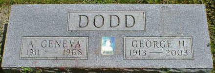 DODD, GEORGE H - Cerro Gordo County, Iowa | GEORGE H DODD