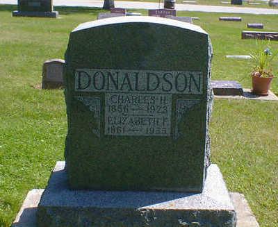 DONALDSON, ELIZABETH F. - Cerro Gordo County, Iowa   ELIZABETH F. DONALDSON
