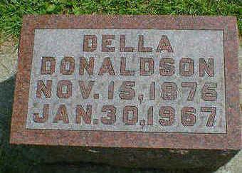 DONALDSON, DELLA - Cerro Gordo County, Iowa   DELLA DONALDSON