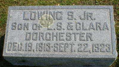 DORCHESTER, LOWING S. JR. - Cerro Gordo County, Iowa | LOWING S. JR. DORCHESTER