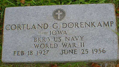 DORENKAMP, CORTLAND G. - Cerro Gordo County, Iowa   CORTLAND G. DORENKAMP