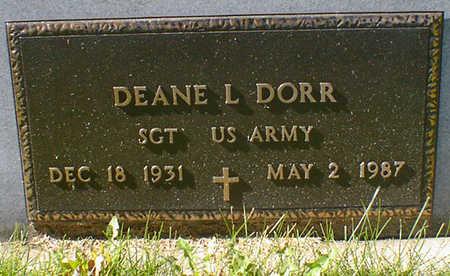 DORR, DEANE L. - Cerro Gordo County, Iowa | DEANE L. DORR