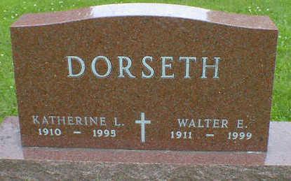 DORSETH, WALTER E. - Cerro Gordo County, Iowa | WALTER E. DORSETH