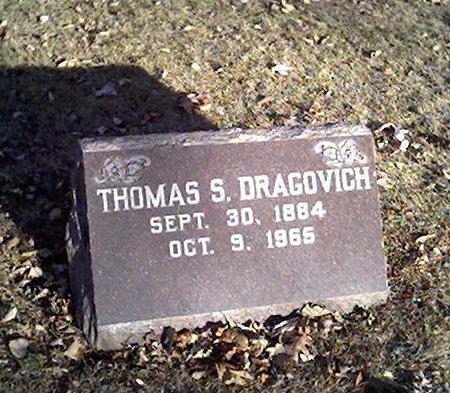 DRAGOVICH, THOMAS - Cerro Gordo County, Iowa   THOMAS DRAGOVICH