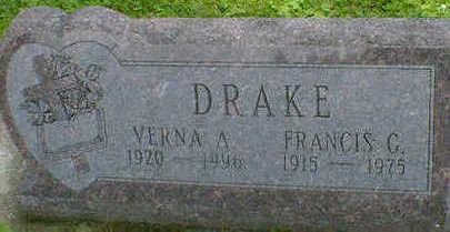 DRAKE, FRANCIS G. - Cerro Gordo County, Iowa | FRANCIS G. DRAKE