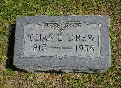 DREW, CHAS. E. - Cerro Gordo County, Iowa   CHAS. E. DREW