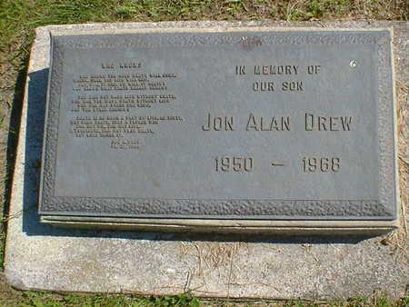 DREW, JON ALAN - Cerro Gordo County, Iowa   JON ALAN DREW