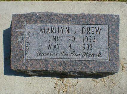 DREW, MARILYN J. - Cerro Gordo County, Iowa | MARILYN J. DREW