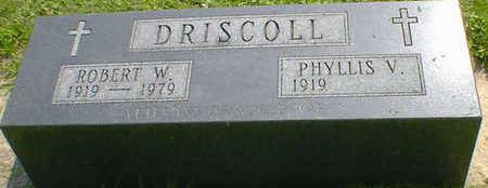 DRISCOLL, ROBERT W. - Cerro Gordo County, Iowa | ROBERT W. DRISCOLL