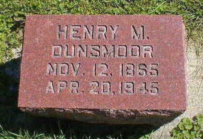 DUNSMOOR, HENRY M. - Cerro Gordo County, Iowa | HENRY M. DUNSMOOR