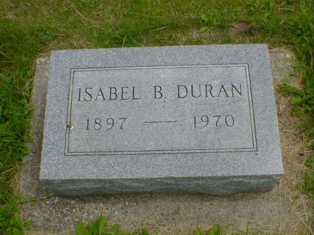 DURAN, ISABEL B. - Cerro Gordo County, Iowa | ISABEL B. DURAN