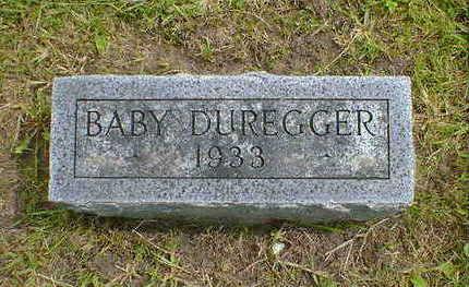 DUREGGER, BABY - Cerro Gordo County, Iowa | BABY DUREGGER