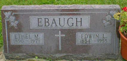 EBAUGH, EDWIN L. - Cerro Gordo County, Iowa   EDWIN L. EBAUGH