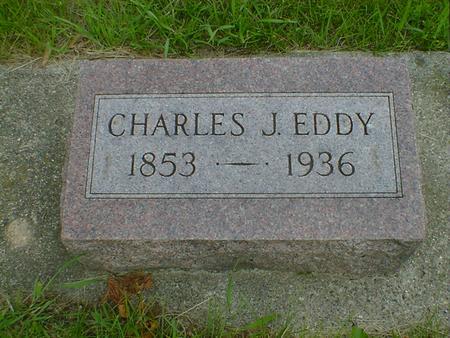 EDDY, CHARLES J. - Cerro Gordo County, Iowa   CHARLES J. EDDY
