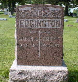 EDGINGTON, AARON R. - Cerro Gordo County, Iowa | AARON R. EDGINGTON