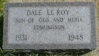 EDMUNDSON, DALE LEROY - Cerro Gordo County, Iowa | DALE LEROY EDMUNDSON