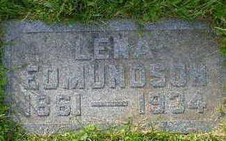 EDMUNDSON, LENA - Cerro Gordo County, Iowa | LENA EDMUNDSON