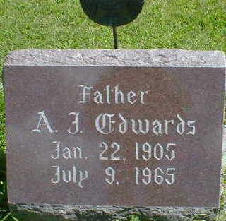 EDWARDS, A. J. - Cerro Gordo County, Iowa   A. J. EDWARDS