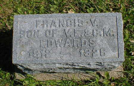 EDWARDS, FRANCIS V. - Cerro Gordo County, Iowa   FRANCIS V. EDWARDS
