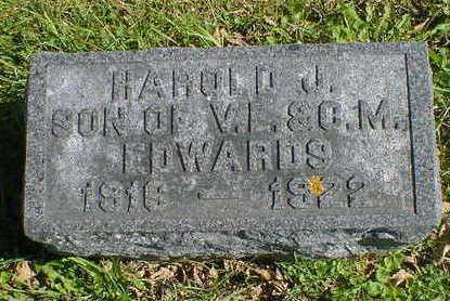EDWARDS, HAROLD J. - Cerro Gordo County, Iowa   HAROLD J. EDWARDS