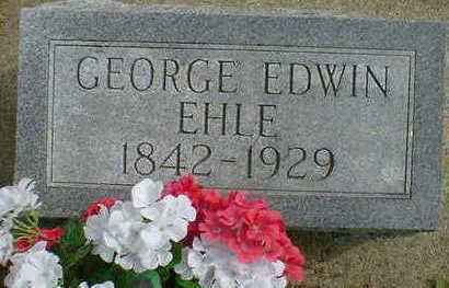 EHLE, GEORGE EDWIN - Cerro Gordo County, Iowa | GEORGE EDWIN EHLE