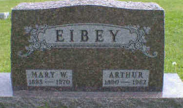 EIBEY, MARY W. - Cerro Gordo County, Iowa | MARY W. EIBEY